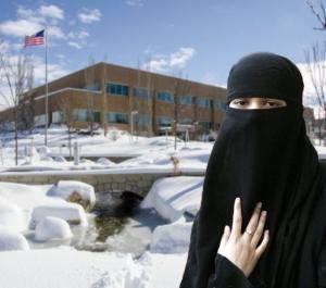Winter Burka